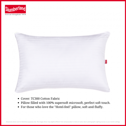 Slumberland Comfort Rest Pillow Hotel Bantal